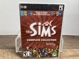 The Sims Complete Collection (PC Windows 2005) Complete With All Discs & Manual