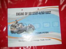 Motor Ersatzteilliste parts list liste pièces de rechange QUAD LIFAN 125 - 150