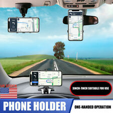 Universal Cell Phone Mount Car Dashboard Holder Stand Bracket Clip 360° Rotation