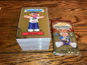 2020 GARBAGE PAIL KIDS CHROME SERIES 3 100 CARD COMPLETE BASE SET + WRAPPER NM