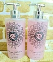 Set of 2 Vivian Gray LOTUS & ROSE Cream Hand Soap 13.5 oz, Made in Germany