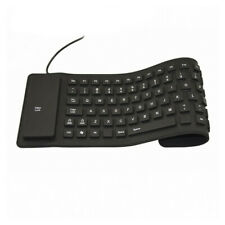 Waterproof Silicone Keyboard Foldable Flexible USB Mini Dustproof dirt Proof