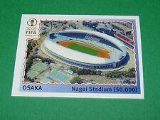 N°21 OSAKA STADE WORLD CUP PANINI FOOTBALL JAPAN KOREA 2002 COUPE MONDE FIFA