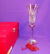 WATERFORD CRYSTAL LISMORE PARTRIDGE PEAR TREE CHAMPAGNE FLUTE 12 DAYS CHRISTMAS