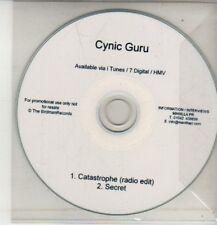(CM708) Cynic Guru, Catastrophe - DJ CD