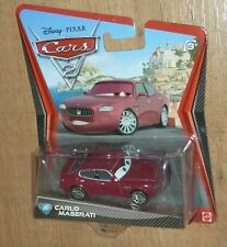 New Disney Cars CARLO MASERATI 1:55 diecast