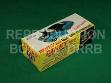 Dinky #179 Opel Commodore - Reproduction Box by DRRB
