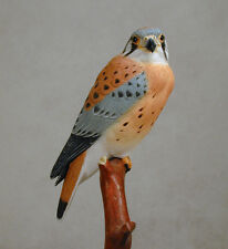 "5""American Kestrel Original Wood Carving"