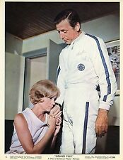EVA MARIE SAINT YVES MONTAND GRAND PRIX  1966 PHOTO VINTAGE LOBBY CARD N°1