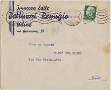 UDINE - IMPRESA EDILE BETTUZZI REMIGIO 1939