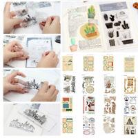 Die Card Album Decor Cutting Scrapbooking DIY Rubber Stamp Sets SiliconeTemplate