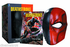 Batman DC Universe: Deathstroke Dieux of War Vol. 1 Book & Life Size Mask Set