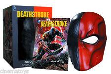 Batman DC Universe: Deathstroke Gods of War Vol. 1 Book & Life Size Mask Set!