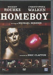 Homeboy DVD con Mickey Rourke musiche di Eric Clapton