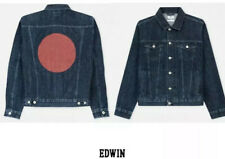 EDWIN JEANS RED LISTED High Road Jacket. Dark Selvage Denim. Size M