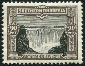 SOUTHERN RHODESIA-1931-37 2d Black & Sepia Sg 17 MOUNTED MINT V48299