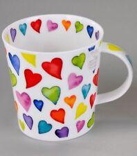 Dunoon Becher Cairngorm Warm Hearts Porzellan 480 ml NEU