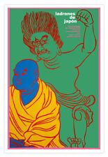 "Cuban movie Poster 4 film""Thieves of Japan""Japanese art.Los LADRONES.Oriental"