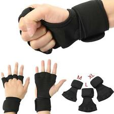 Vogue Health Gloves Wrist Wrap Workout Dumbbell Fitness Weight Gym Lifting Grip