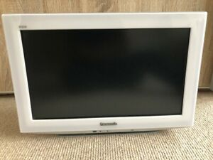 """Panasonic Viera TX-L19D28BW 19"""" LCD TV White. Excellent condition."""