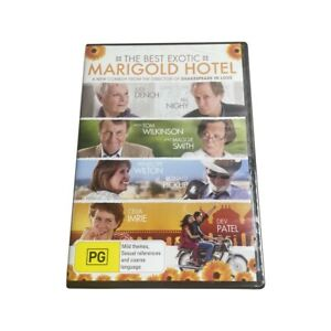 GREAT DEAL The Best Exotic Marigold Hotel (DVD) Australia Region 4- NEW & SEALED
