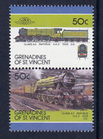 GRENADINES OF St VINCENT LOCO 100 CLASS A3 PAPYRUS LOCOMOTIVE UK STAMPS