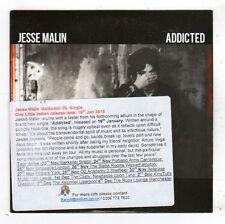 (FY544) Jesse Malin, Addicted - 2015 DJ CD
