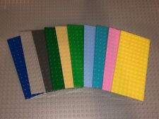 Lego 8 X 16 Studded Base Plates - Pick The Color and Quantity. Clean & Inspected