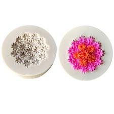 3D Molde de Silicona Forma Pastel De Chocolate Caramelo Molde Flores Decoupage-M136