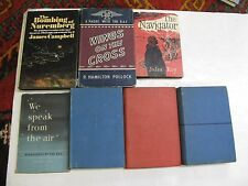Lot 7 Aviation WW II RAF Military Bombers Bombing Nuremberg Germany Broadcasts