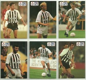 6 x GRIMSBY TOWN Proset Cards