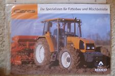 Renault Ceres Traktoren - Original Prospekt