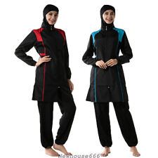 Muslim Swimsuit Plus Size Swimwear Women Burkini Swimming Suit Bathing Beachwear
