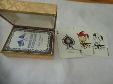 """MOHAWK HUDSON POWER SQUADRON DECK OF CARDS, """"CHANGE OF WATCH 1964"""""""