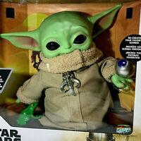 "Mattel Star Wars Mandalorian The Child Baby Yoda 12"" Plush Doll & Accessories"
