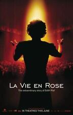 LA VIE EN ROSE - 27x40 D/S Original Movie Poster One Sheet Marion Cotillard 2007