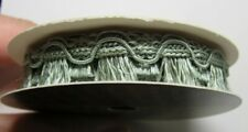 Crafts, Ribbon, 2 yds Sage Green, Dollhouse Curtain/Other Trim, 1/12th Scale
