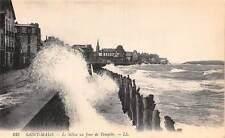 France Saint-Malo - Le Sillon un Jour de Tempete, Sea Storm