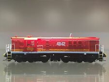 """LATEST RELEASE"" TrainOrama 48 Class HO Scale Locomotive, 4842, Candy - Red Roof"