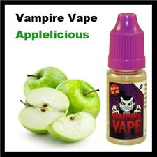 Vampire Vape *4 x 10ml - Applelicious 6mg E-Liquid