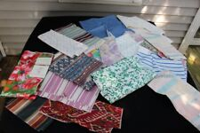 Lot Of Vintage Drapery Upholstery Fabric Samples 1970's Era 25 Pieces