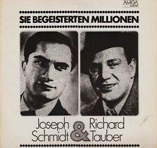Joseph schmidt vous enthousiastes millions (& richard tauber; Amiga) [LP]