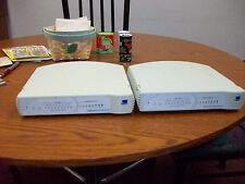 2 used 3Com Office Connect TP16C Ethernet Hubs (#C16702A)... no power cords