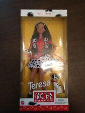 New 1997 Barbie Teresa 101 Dalmatians Disney Matel Special Edition Doll