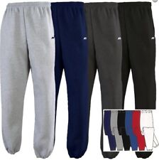 Russell  Adult Mens No Pocket NuBlend DriPower Closed Bottom Sweatpants