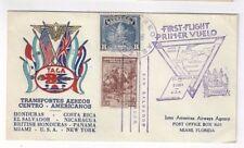 1943 San Salvador, El Salvador, TACA First Flight Airmail to Miami FL
