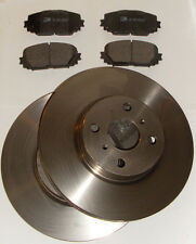 TOYOTA YARIS 1.0 2006 to 2011 JAP BUILT FRONT 2 BRAKE DISCS AND PADS NEW