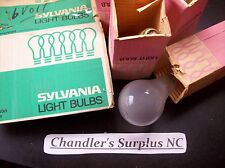 Sylvania 50W 6volts Incandescent Light Bulb, USA,  Frosted,6-A245-B