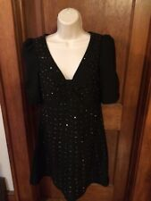 Karta Nordstrom Black Evening Cocktail Dress GUC Size Medium
