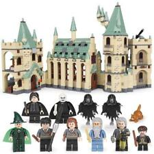 FAST SHIPPING Custom Harry Potter Hogwarts Castle Compitible Lego 4842 + Manual